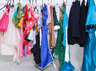 子供の七五三やドレス、大人のドレス、コスプレ、水着など無料貸出